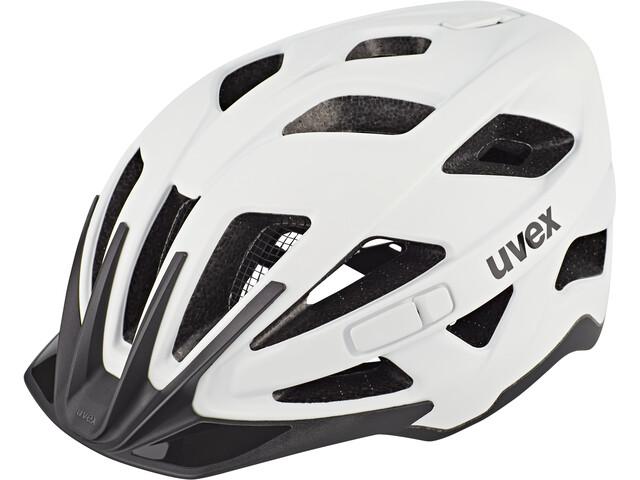 UVEX Active CC Casco, white/black matt